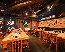 宴会コースは2時間飲み放題付き!税込3500円より!!