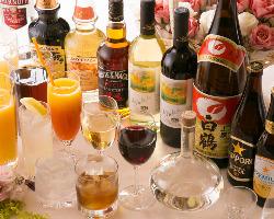 ワインからカクテルまで 多彩なドリンクメニュー≪全12種≫