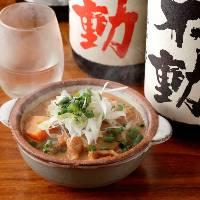 【日本酒】 グランドメニュー以外にも季節酒などをご用意
