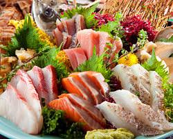 自慢の海鮮料理をはじめ 人気のメニューが勢ぞろい!
