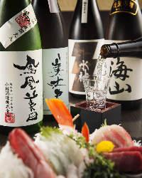 日本酒25種類ご用意!