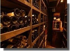 こちらが当店自慢のワインセラー