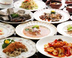 ご接待・お祝い・ご宴会に 最適な中国会席コースをご用意。