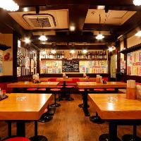 ◆新宿駅徒歩2分!気軽に立ち寄れるアットホームな店内