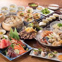 各種ご宴会に最適◎お得な3時間飲み放題付コースは2,980円~!