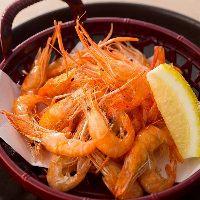 ●川えび唐揚げ パリッとさくさくの食感の逸品料理!