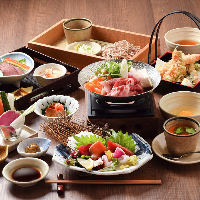 会食コースはいつもよりちょっと贅沢な食事やお祝い事におすすめ