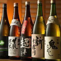 【プレミアム飲み放題】 日本酒や焼酎が16種類も増える♪