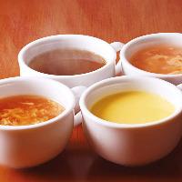 ★スープバー★一番人気は、コンポタージュスープ