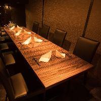 大切な方をおもてなしする、最高の食空間をご提供。