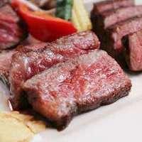 脂と赤身のバランスが非常に優れているA5ランクの黒毛和牛