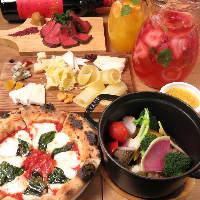 魅力的なお料理が盛りだくさん!小皿料理は450円~