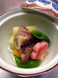 旬の竹の子料理各種あります