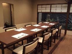 2階の半個室です。40名様迄貸し切り可能です。