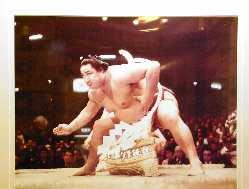 第五十二代横綱北の富士です