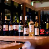 10種のワインなどを愉しめる90分フリーフロー付プランが新登場!