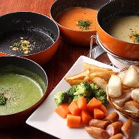 【横浜】カレッサ人気メニュー!! 味が選べるチーズフォンデュ