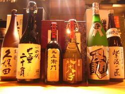 酒槽だから出来るこの品揃え、日本酒入門の方大歓迎。