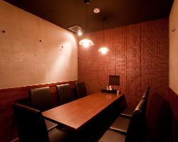 個室は複数ご用意しております。ご予約の際にお伝え下さいませ。