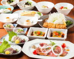 ◆赤坂近郊の歓迎会・送別会に!お得なご宴会コース4500円~