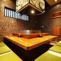 ●カウンター席個室● 揚げ場のある完全個室で至福のひとときを