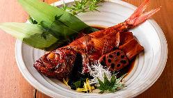 日本一うまい下田の地トロ金目鯛煮付け 1,780円