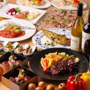 オイル ハーブ ワイン 肉 びすとろMASA 大門 浜松町店 image