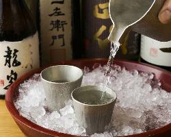 【極上銘酒も!】 30種以上の日本酒や本格焼酎もございます