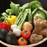 千葉県産の 季節野菜を使った野菜料理が自慢です