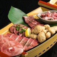 【焼肉城ホル特製~ヤマト~】 大満足!お肉の舟盛り♪♪