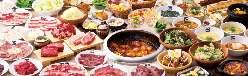 お肉だけでなくサイドメニューも豊富☆人気のおさつバターも!