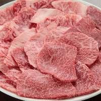 《手切り焼肉》 部位の特質を見極め手切り!美味しさが違います