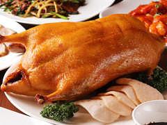 北京ダック(写真イメージ)大満足な豪華料理