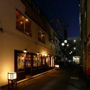 西船橋駅前 路地ノ裏 灯篭