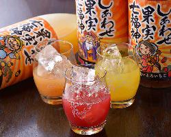 【七福神】 まるで果物みたい!7種の濃厚果実酒をご用意