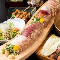 日本一の生産を誇る、熊本の美味しい馬刺しを提供!