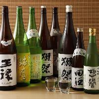 九州の地酒を多数ご用意しております。