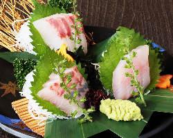 館山直送!その日の鮮魚を日替わりのおすすめでご提供致します!