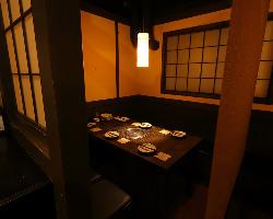 隠れ家的な完全個室で会社宴会から女子会まで様々な宴会が可能!