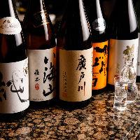 日本酒ファンにはたまらない利酒師厳選の品を取り揃え!