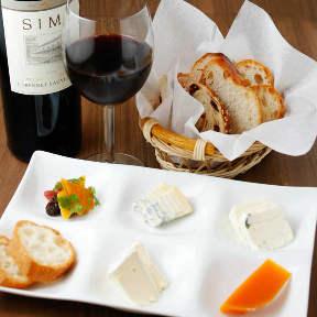 チーズ&ワイン mu‐ku