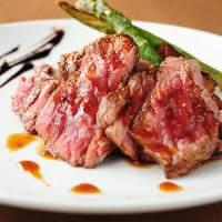 【数量限定ステーキ】 柔らかな肉質が人気のカイノミを使用