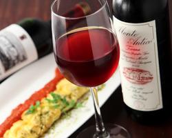 記念日や誕生日に☆ ワインと共に美味しい食事を☆