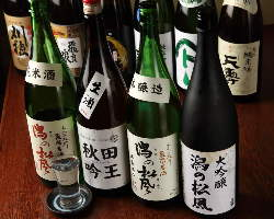 秋田の日本酒是非味わって