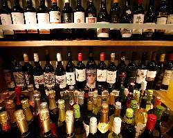 世界のワイン約100種飲み放題!