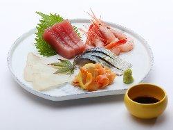 北乃宿といえば… 美味い魚を食べに来てください。