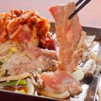 伝統の味!テッチャン鍋! 是非味わって下さい!!