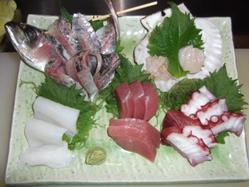 旬が満載! お刺身・串焼・焼き魚・揚げ物