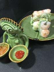 エビとネギ味噌の生春巻き 750円(外税)