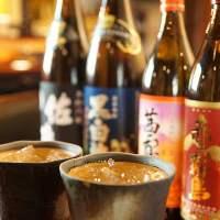 【日本酒・焼酎好きに◎】日本酒や焼酎など旨い酒を多数ご用意